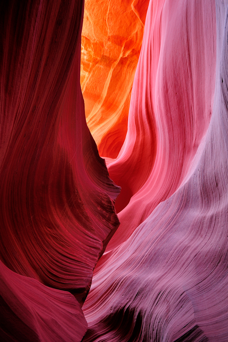 Lower Antelope Canyon (Page, Arizona)