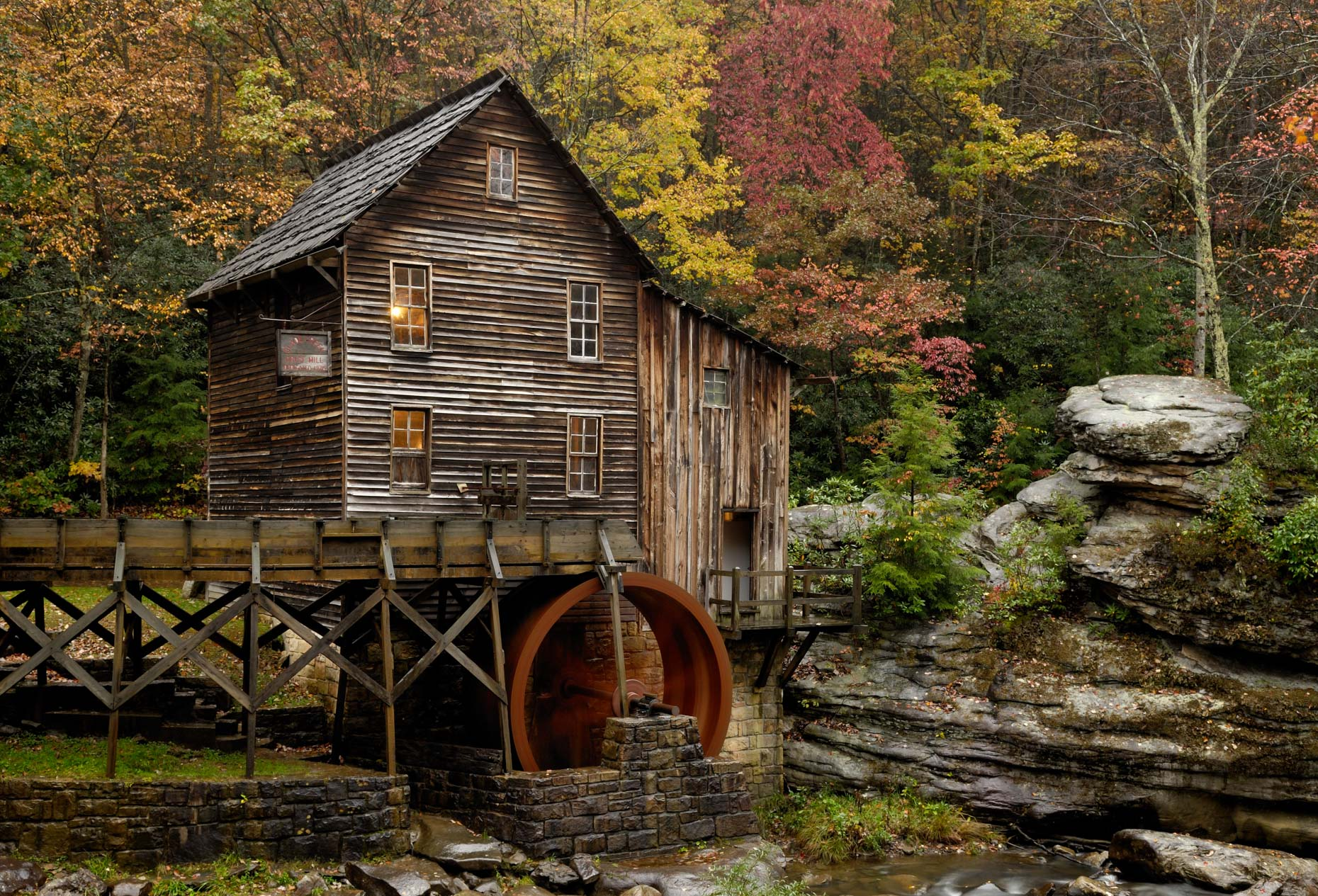 Glade Creek Grist Mill (Clifftop, West Virginia)