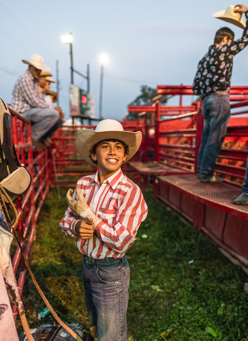 Boy in the Rodeo Pit