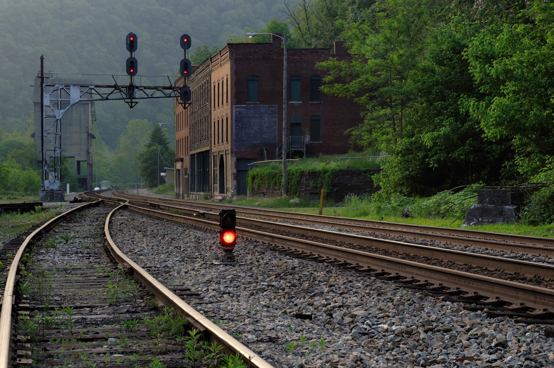 Railroad Ghost Town (Thurmond, West Virginia)