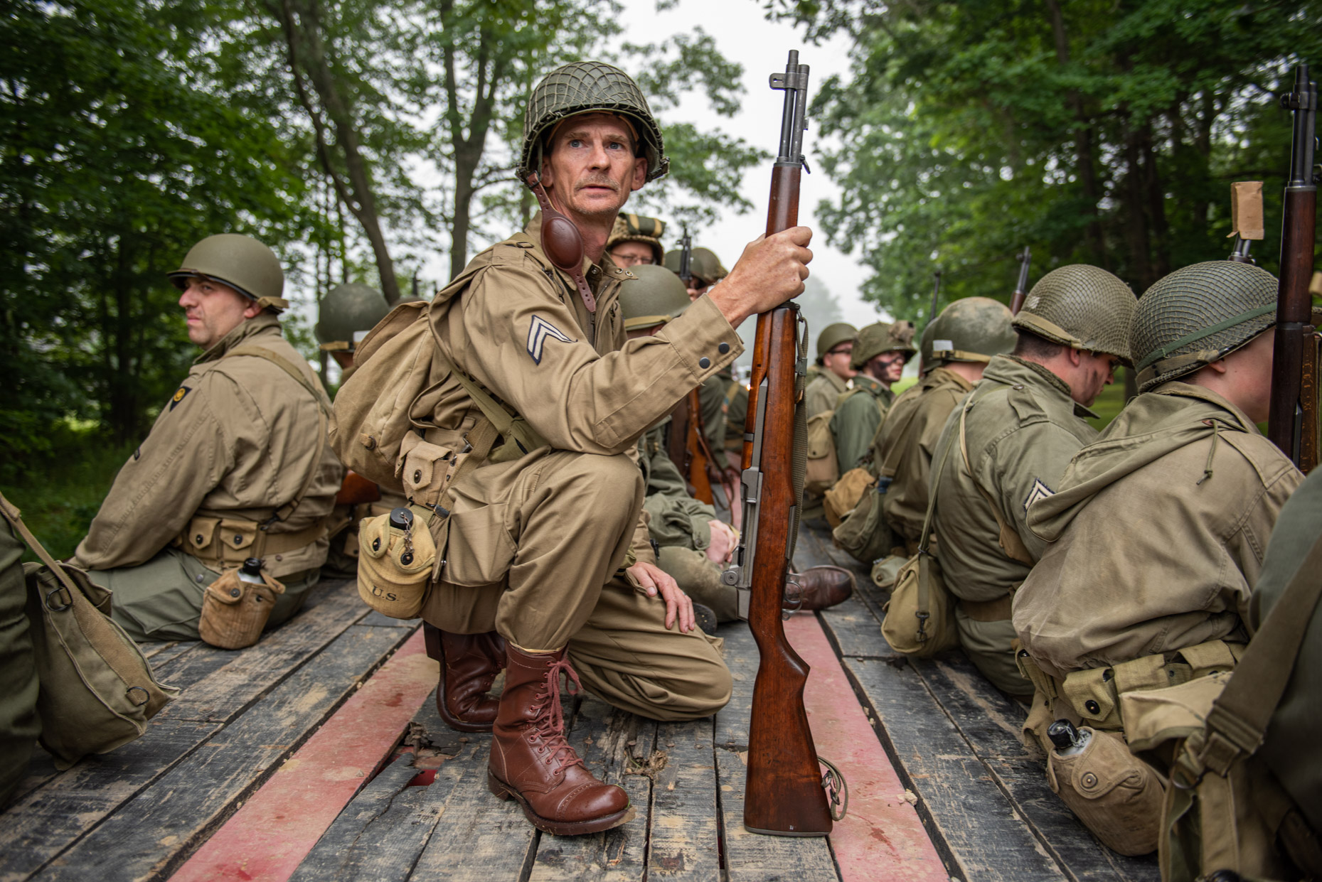 WWII Reenactment (Tidioute, PA)