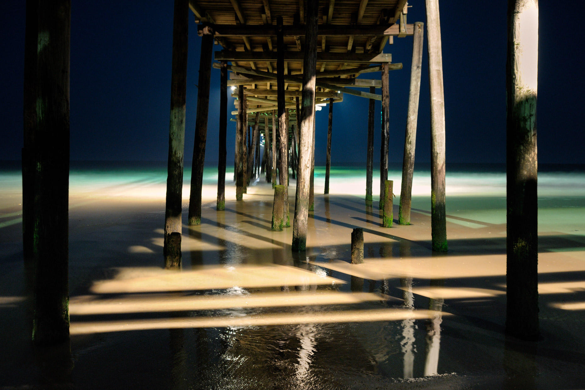 Outer Banks Pier at Night (North Carolina)