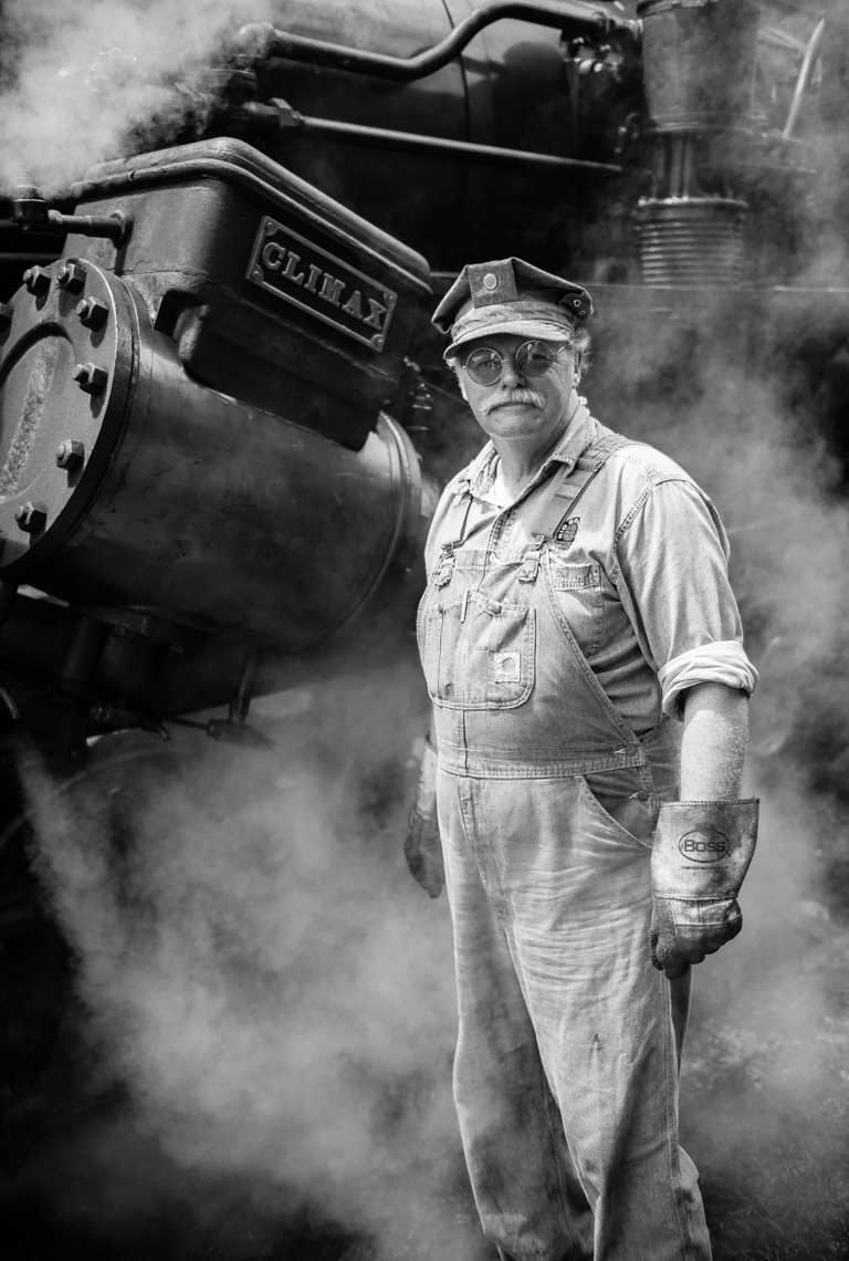 Earl the Railroad Conductor (Durbin, WV)